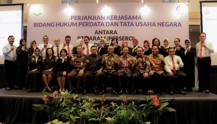 PT Garam MoU dengan Kejaksaan Tinggi Jawa Timur