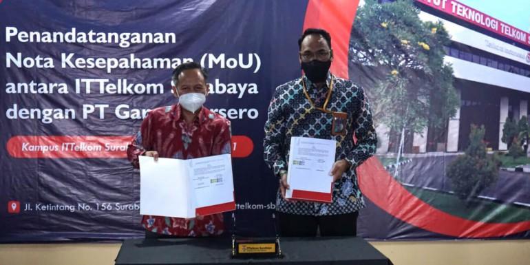 MoU PT Garam dengan Institut Teknologi Telkom Surabaya