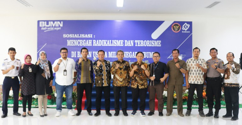 PT GARAM Peduli Pencegahan Radikalisme Dan Terorisme
