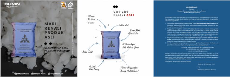 Produk Asli Garam Bahan Baku